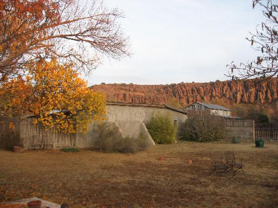 VERANDA HISTORIC INN: Autumn View from the Back Gardens