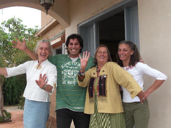 Relais Esmeralda: accueil du gentilhomme juillet 2010