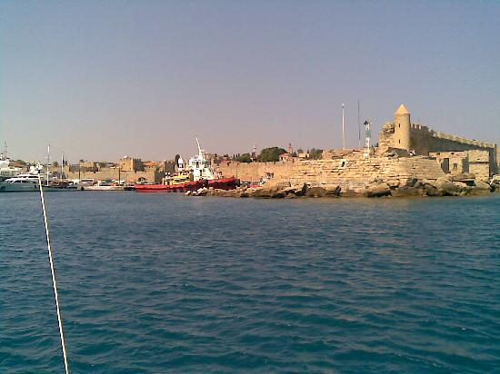 ALS Hotel : Rhodes from the see