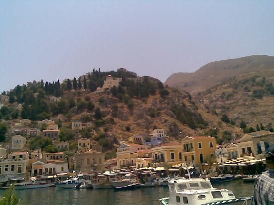 ALS Hotel: Symi town from the ship