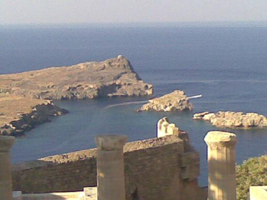 ALS Hotel : A view from Lindos Acropolis