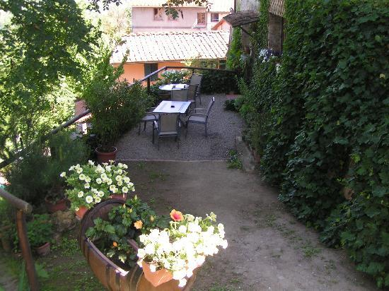 Ulignano, Italy: Terrasse