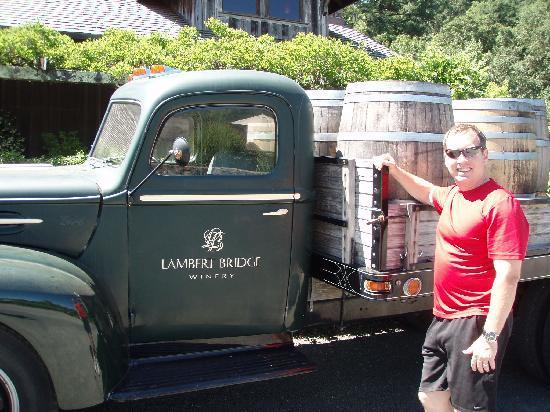 Lambert Bridge Winery: The old Lambert Bridge Truck