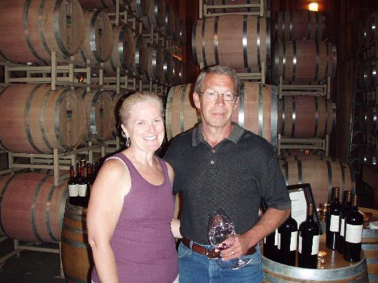 Lambert Bridge Winery: Greg teaches us the finer things about wine