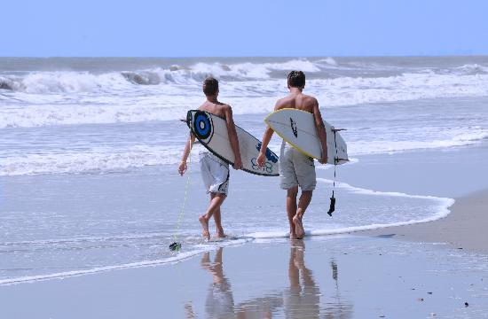 Surfing Is A Por Pastime For North Myrtle Beach Visitors