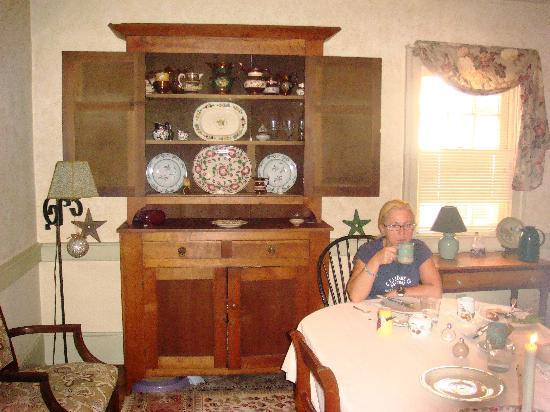 Historic Lantz House Inn: EL DESAYUNO