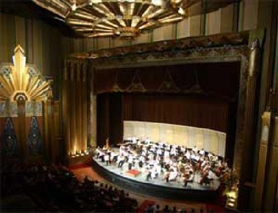 The Spokane Symphony performs in the Martin Woldson Theater at The Fox