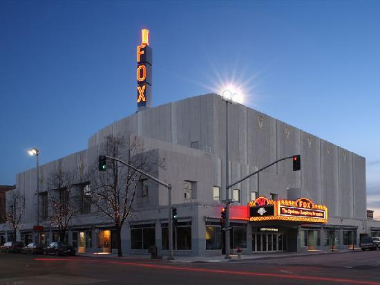Martin Woldson Theater at the Fox : The Fox Theater after its completed restoration