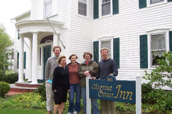 Family Gathering at Chestnut Street Inn