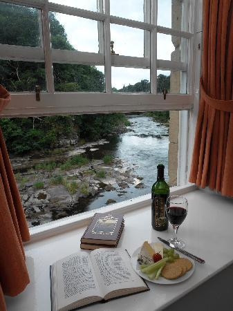 New Lanark Mill Hotel: View from guest bedroom