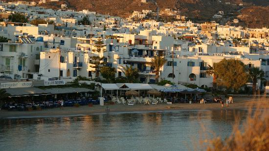 Saint George Hotel: city of Naxos