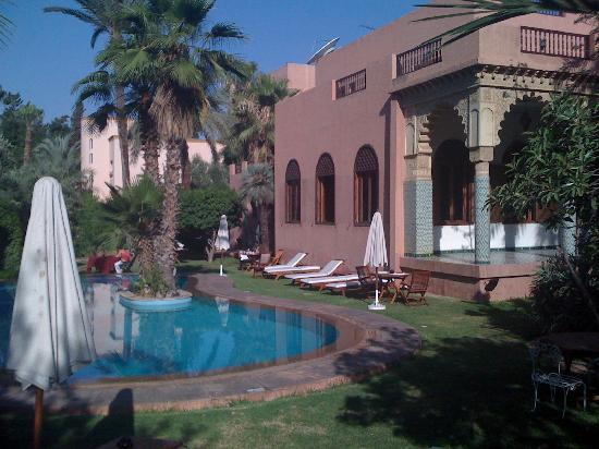 Swimming pool area picture of the red house marrakech tripadvisor Red house hotel swimming pool