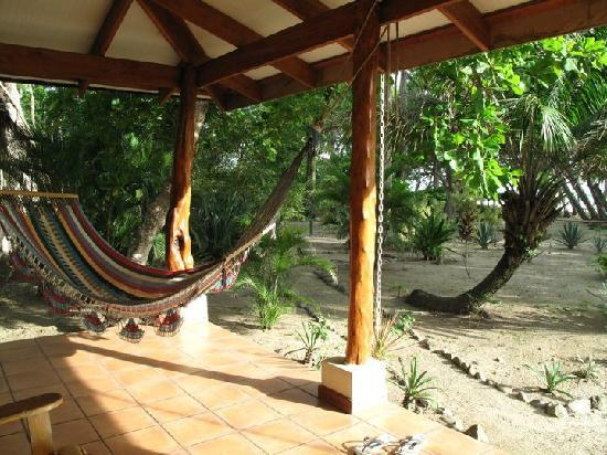 Villas Hermosas: The hammock on our front porch
