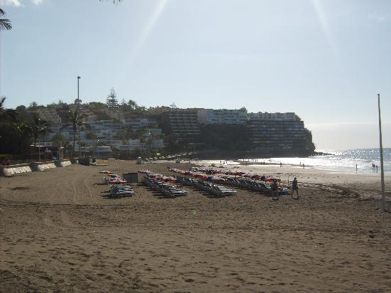 Melia Tamarindos: Beach right outside hotel..Ok but not the best..Better beaches 15 minutes walk