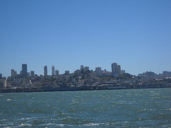 San Francisco Sailing Company: City view from San Francisco