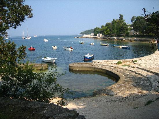 Hotel Eden: The cove at the end of the Eden's grounds