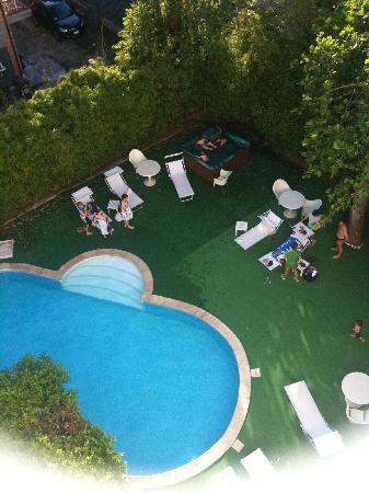 Hotel Saraceno: la piscina