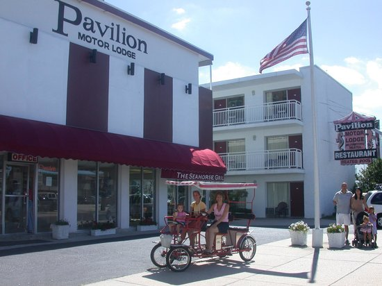 Pavilion Motor Lodge: In the heart of Ocean City!