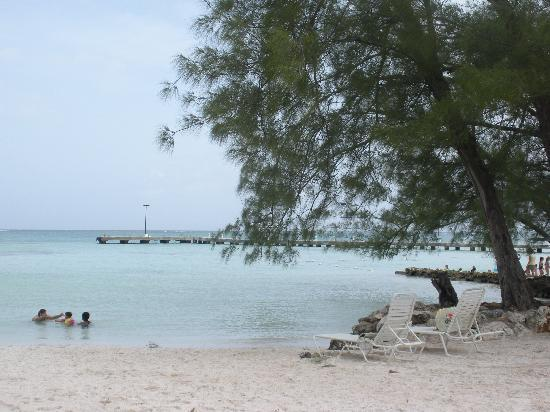 The Retreat at Rum Point: the perfect beach