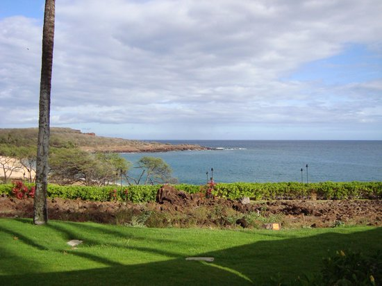 Kailani: view from our table