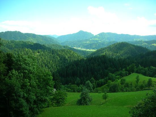 Skofja Loka, Slovenia: A typical view