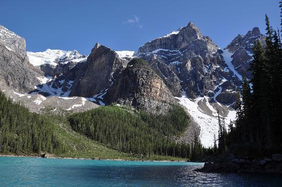 Moraine Lake Lodge: Stunning view