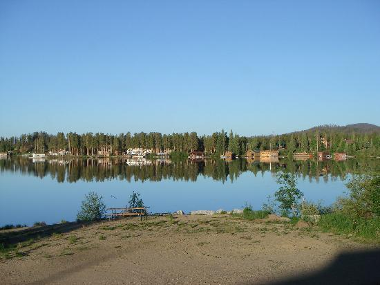 Western Riviera Lakeside Lodging & Events: This is the view from our room! Absolutely breath-taking!