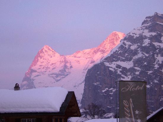 Hotel Bellevue: Winterabend