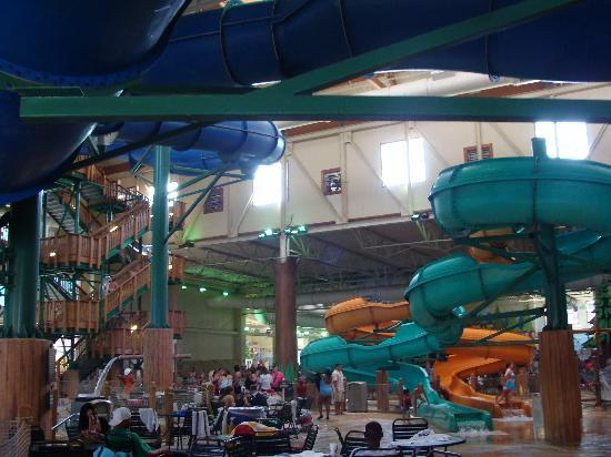 Great Wolf Lodge: Random pic of inside water park