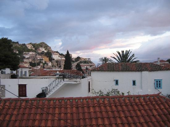 Piteoussa Guest House: view from the balcony
