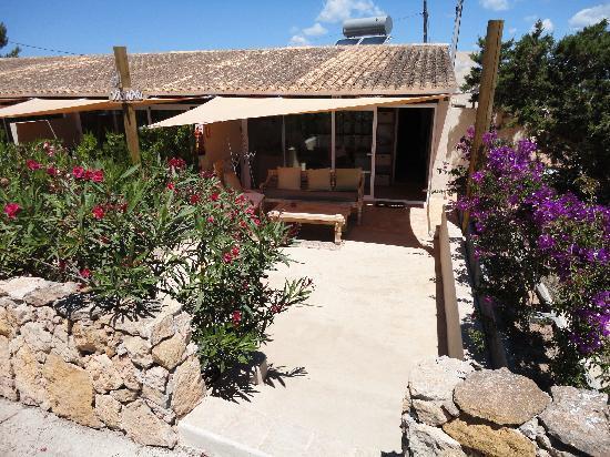 La Masía de Formentera: camera