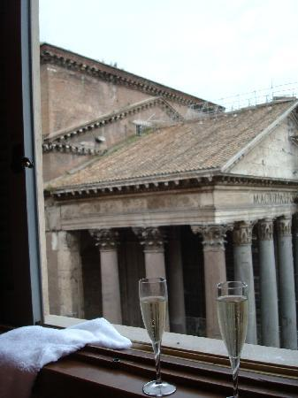 Albergo del Senato: View from our hotel room.