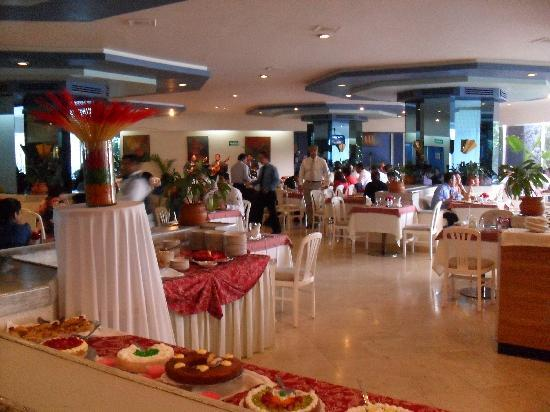 Hotel Del Prado: at the restaurant