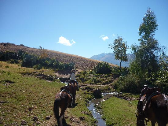 Urubamba, Peru: a beautiful day