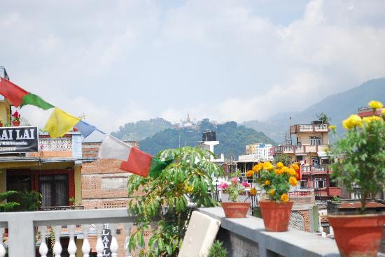 Hotel Ganesh Himal: View from the rooftop