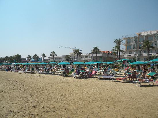 Hotel Sole: Spiaggia privata