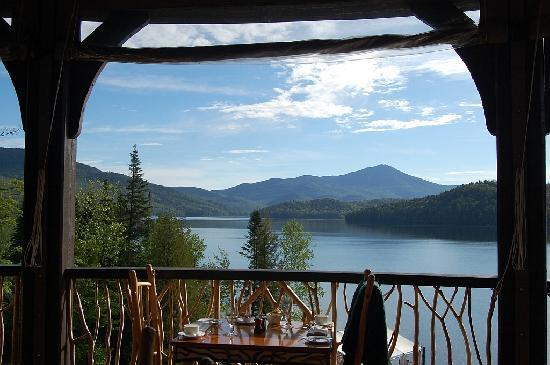 Lake Placid Lodge: View from Restaurant