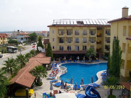 Sun City Apartments & Hotel: overzicht van bovenaf