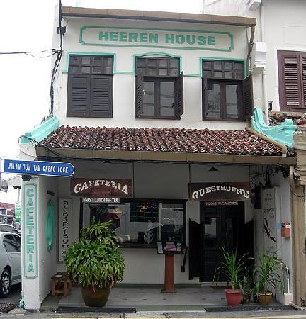 Heeren House: Front Entrance