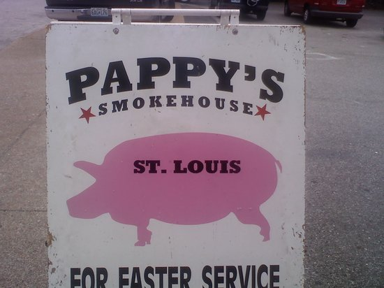 Pappy's BBQ: pappy's rest.