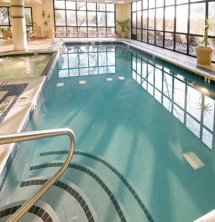 Indoor Pool And Whirlpool Picture Of Embassy Suites By Hilton Atlanta Galleria Atlanta