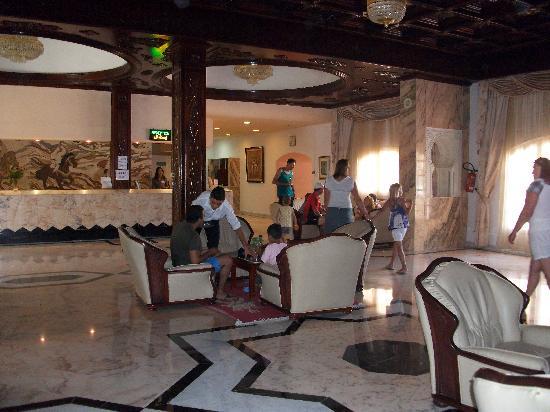 Le Marabout Hotel: hall d'entrée