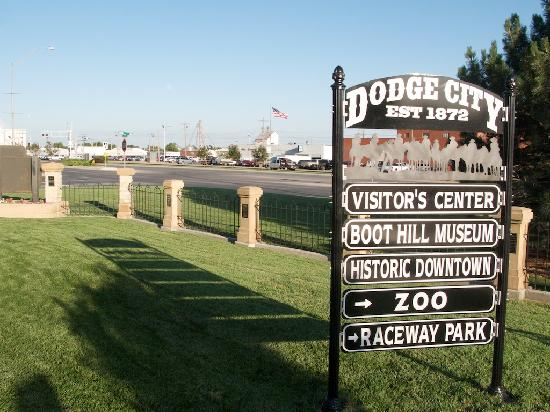 Dodge City, KS: Local Attraction Sign