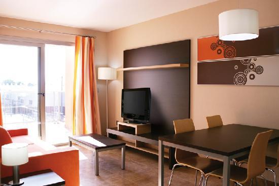 Apartamentos Albir palace: Living room