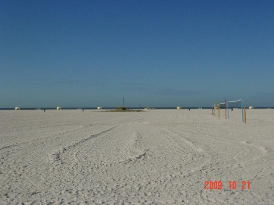 Treasure Island's Wide Beach