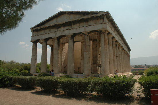 Aten, Hellas: Temple