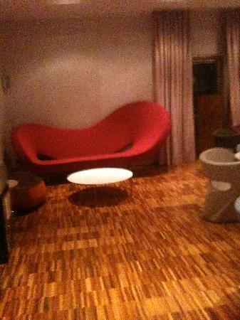 Hotel Oberosler: area conversazione