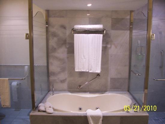 Iberostar Grand Hotel Rose Hall : our room-the tub (not to be confused with the fabulous stand-alone shower)