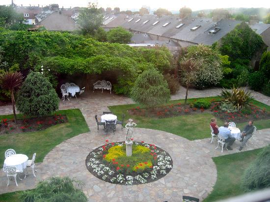 Hayfield Manor Hotel: view from our room