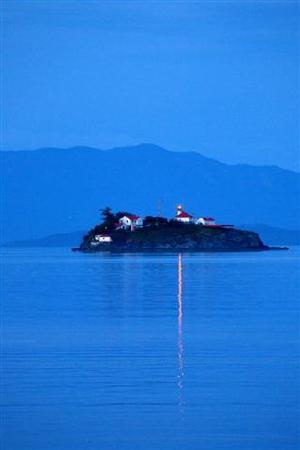 Qualicum Beach, Canada: Picture perfect lighthouse setting